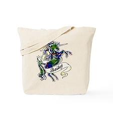 Bailey Tartan Unicorn Tote Bag