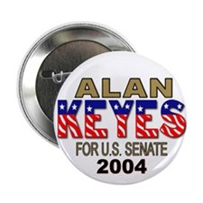 Alan Keyes For U.S. Senate Button