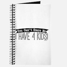 I Have 4 Kids Journal