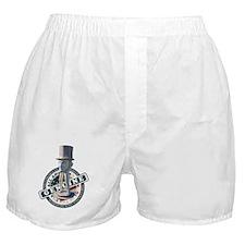 Lincoln Legs Memorial Tee Boxer Shorts