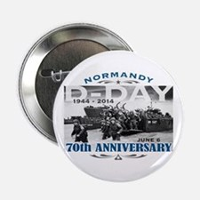 """D-Day 70th Anniversary Battle of Normandy 2.25"""" Bu"""