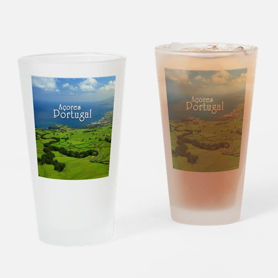 Azores - Portugal Drinking Glass