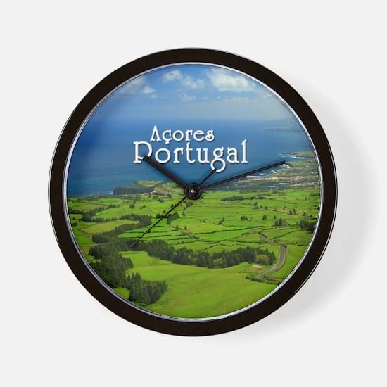 Azores - Portugal Wall Clock