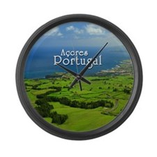 Azores - Portugal Large Wall Clock