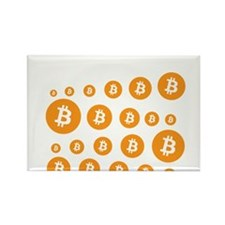 bitcoin pattern Magnets