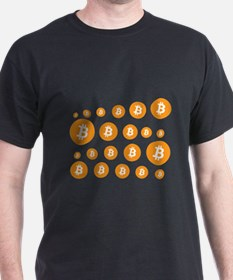bitcoin pattern T-Shirt