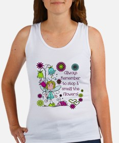 Smell the Flowers Women's Tank Top