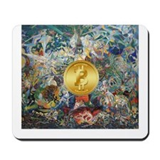 Bitcoin in Wonderland Mousepad