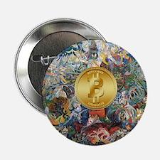 """Bitcoin in Wonderland 2.25"""" Button (10 pack)"""