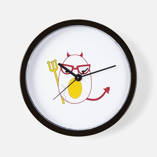 Deviled Egg Wall Clock