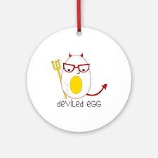 Deviled Egg Ornament (Round)