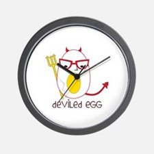 Deviled Egg Wall Clock