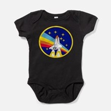 Rainbow Rocket Baby Bodysuit