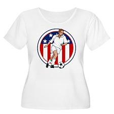 Go USA Soccer Plus Size T-Shirt