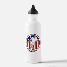 Go USA Soccer Water Bottle