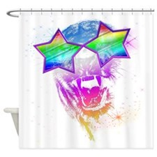Cool Black Panther Shower Curtain