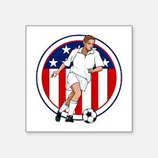 Go USA Soccer Sticker