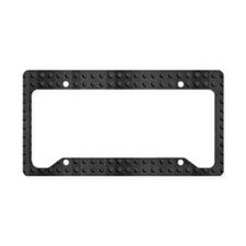 Industrial Rubber Pattern License Plate Holder