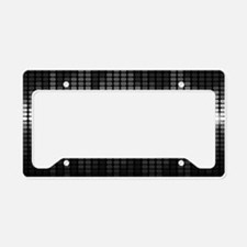 Sound Wave License Plate Holder