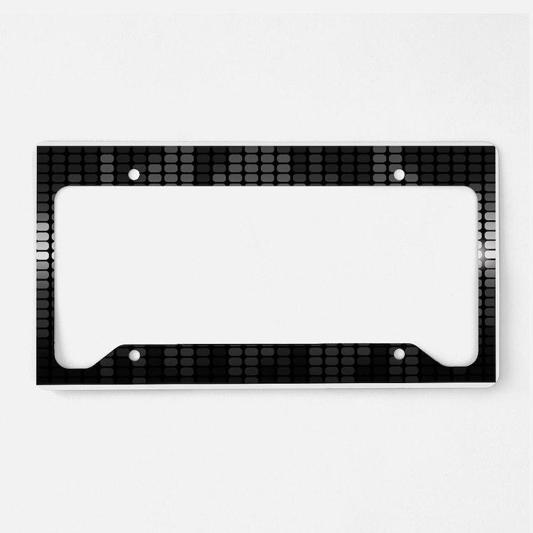 Sound Wave License Plate Holder