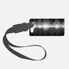 Sound Wave Luggage Tag
