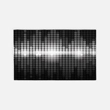 Sound Wave 3'x5' Area Rug