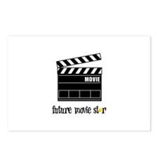 Future Movie Star Postcards (Package of 8)