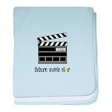 Future Movie Star baby blanket