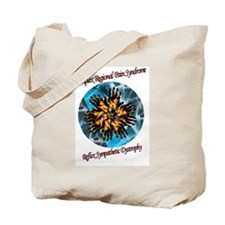 CRPS RSD Blazing Hands  Tote Bag