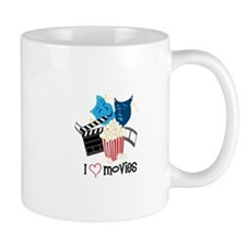 I Love Movies Mugs