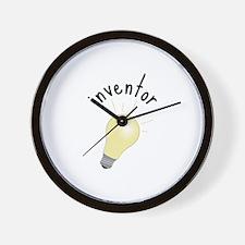 Inventor Wall Clock