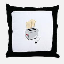 Toaster Throw Pillow