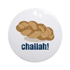 Challah! Ornament (Round)
