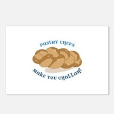 Pastry Chefs Make You Challah! Postcards (Package