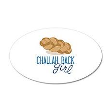 Challah Back Girl Wall Decal