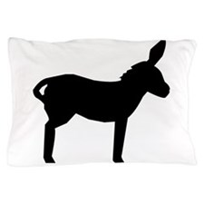 Mule Silhouette Pillow Case