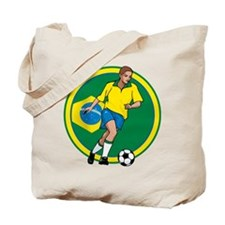 Go Brasil Brazil soccer Tote Bag