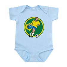 Go Brasil Brazil soccer Body Suit
