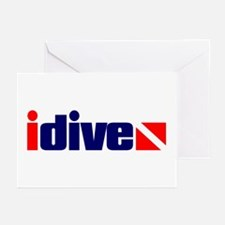 idive Greeting Cards
