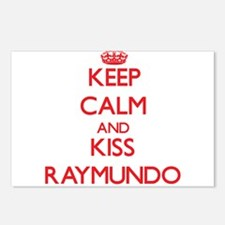 Keep Calm and Kiss Raymundo Postcards (Package of