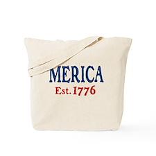 'Merica Est. 1776 Tote Bag