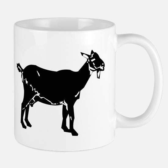 Goat Silhouette Mugs