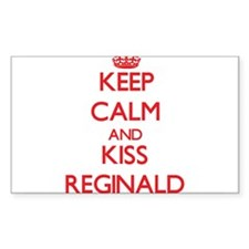 Keep Calm and Kiss Reginald Decal