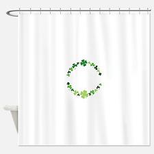 Shamrocks Shower Curtain