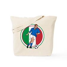 Go Italy Italia Soccer Football Tote Bag