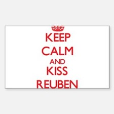 Keep Calm and Kiss Reuben Decal