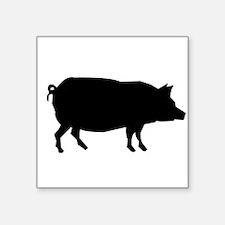 Pig Silhouette Sticker