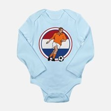 GO Holland Netherlands Long Sleeve Infant Bodysuit