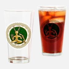 Cute Cernunnos Drinking Glass