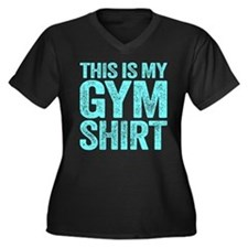 This Is My Gym Shirt Plus Size T-Shirt